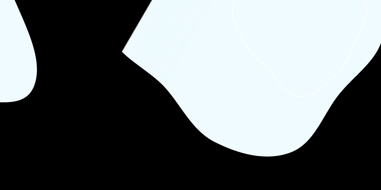na wpół przeźroczyste błękitne kształty będące tłem strony