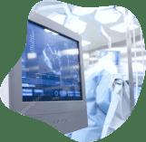 specjalistyczny sprzęt medyczny, monitor do badania usg