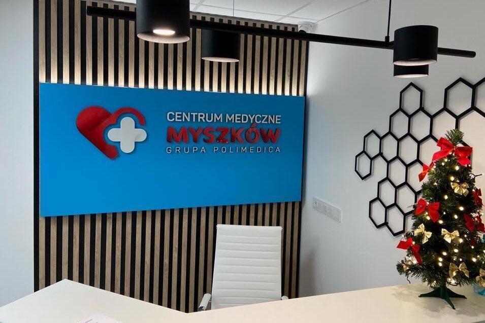 rejestracja centrum medycznego myszków